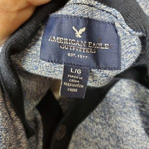 American Eagle Outfitters Sweaters - American Eagle Blue Button Up Cardigan